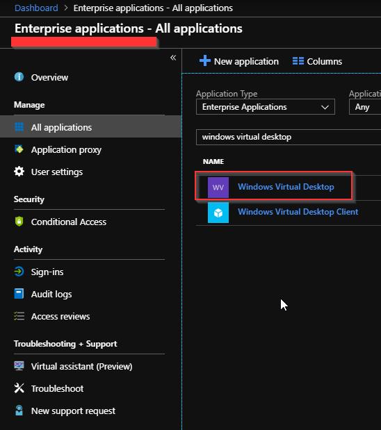 Windows Virtual Desktop Setup - CloudCompanyApps