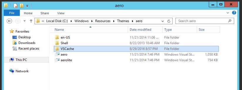 Remote Desktop Services Theme Corrupt - CloudCompanyApps